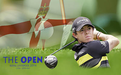 Photograph - Rory Mcilroy by Spikey Mouse Photography