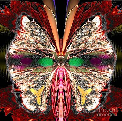 Blue Healer Digital Art - Rosa Cozyplume by Raymel Garcia