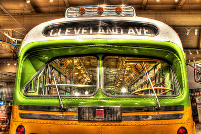 Rosa Parks Photograph - Rosa Parks Bus Henry Ford Museum Dearborn Mi by A And N Art