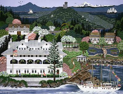Painting - Rosario Resort by Jennifer Lake