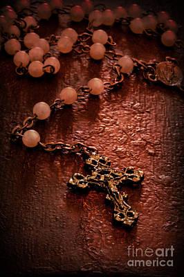 Rosary Love Art Print