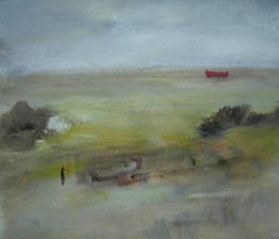 Painting - Rosbeg Beach by Mary Feeney
