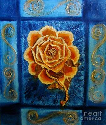Rose 1 Art Print by Suzanne Thomas