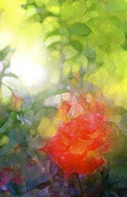Rose 190 Art Print by Pamela Cooper