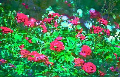 Rose 201 Art Print by Pamela Cooper