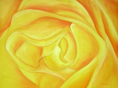 Painting - Rose by Ahmed Amir