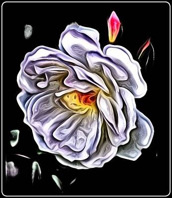Photograph - Rose An Petals  by Kathy Sampson