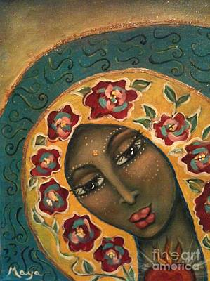 Painting - Rose Avatar by Maya Telford