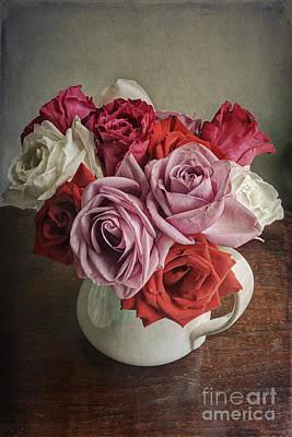 Rose Bounty Art Print