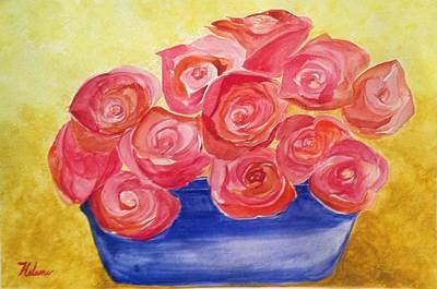 Rose Bowl Original by Helene Thomason