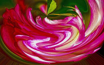 Rose Bowl Art Print by Nancy Marie Ricketts