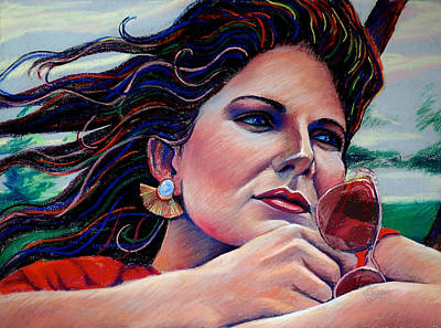 Painting - Rose Colored Glasses by Mary Knape