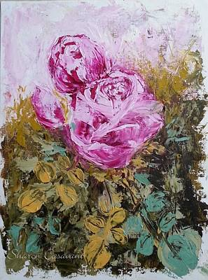 Painting - Rose Colored World by Sharon Casavant