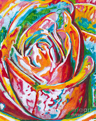Rose Art Print by Denise Deiloh