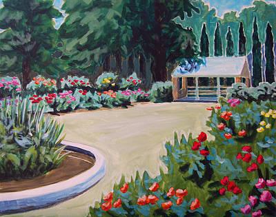Rose Garden Art Print