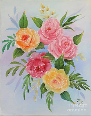 Painting - Rose Gathering by Jimmie Bartlett
