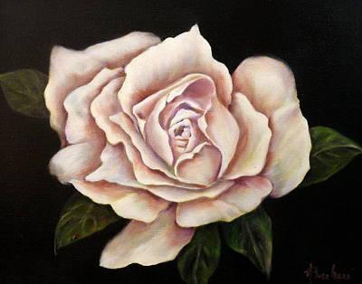 Rose Glow Art Print