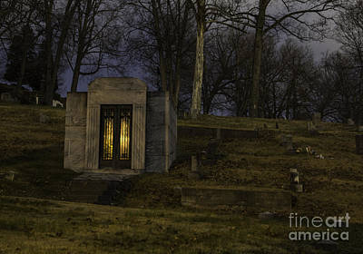 Photograph - Rose Hill Mausoleum by Jeannette Hunt