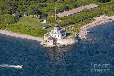 Photograph - Rose Island Lighthouse by John Ferrante