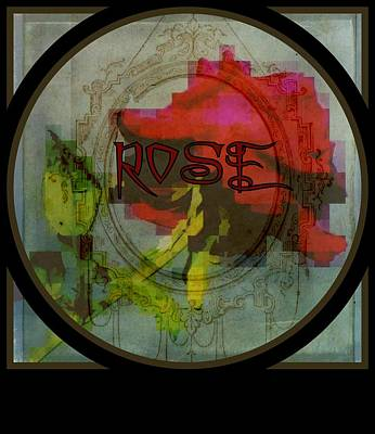 Photograph - Rose by Jodie Marie Anne Richardson Traugott          aka jm-ART