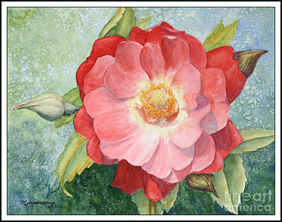 Painting - Rose by Mariarosa Rockefeller