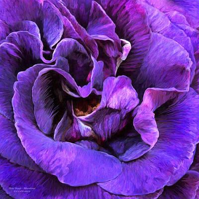 Abundance Mixed Media - Rose Moods - Abundance by Carol Cavalaris