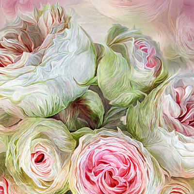 Mixed Media - Rose Moods - Harmony by Carol Cavalaris