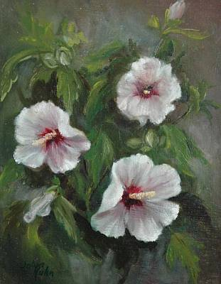 Painting - Rose Of Sharon by Jolyn Kuhn