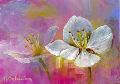 Rose Pecher Original by Muriel Dolemieux