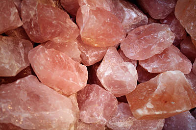 Photograph - Rose Quartz by Tikvah's Hope