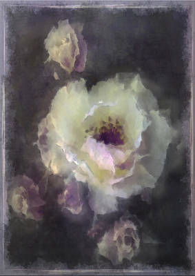 Rose Spray Art Print by Jill Balsam