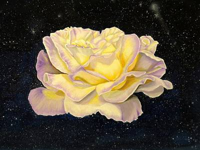 Rose Stars Original by Zina Stromberg