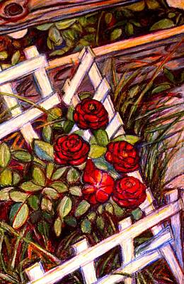 Painting - Rose Start by Kendall Kessler