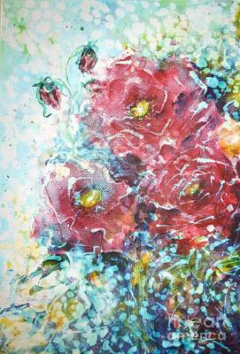 Painting - Rose Summer Delight by Kathleen Pio
