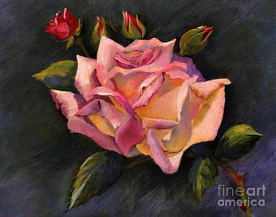 Painting - Rose by Susan M Fleischer