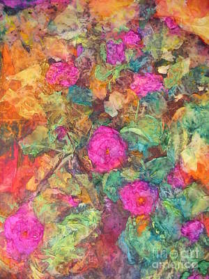 Mixed Media - Rose Tree by Myra Maslowsky