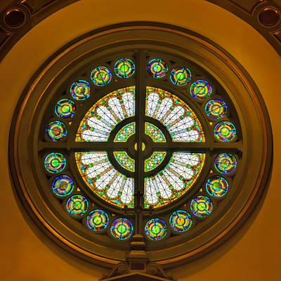 Photograph - Rose Window by Jemmy Archer