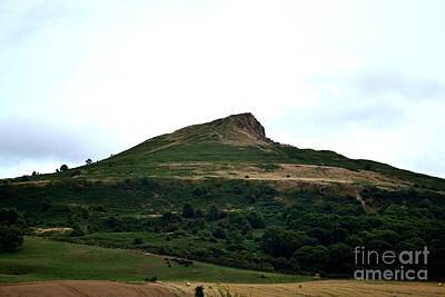 Roseberry Topping Hill Art Print by Scott Lyons