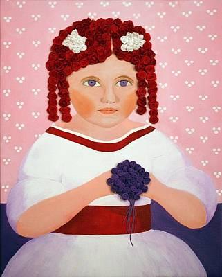 Rosebud Original by Carol Young