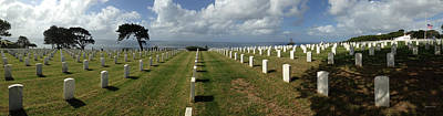 Photograph - Rosecrans National Cemetery by Gary Gunderson