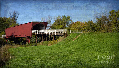 Photograph - Roseman Bridge by Tamara Becker
