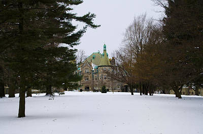 Rosemont College Art Print by Bill Cannon