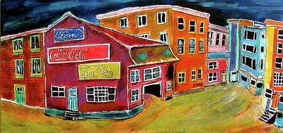 Litvack Painting - Rosemount Street by Michael Litvack
