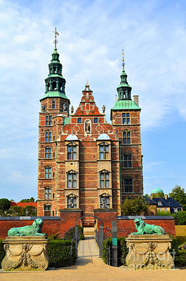 Meimei888 Digital Art - Rosenborg Castle Copenhagen Denmark by Eva Kaufman