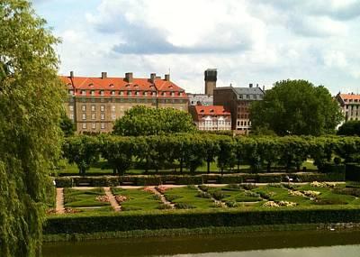 Rosenborg Photograph - Rosenborg Castle Gardens Copenhagen by Lois Ivancin Tavaf