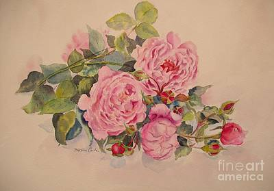 Painting - Roses And More Roses by Beatrice Cloake