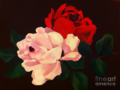 Photograph - Roses Are Red by Saundra Myles