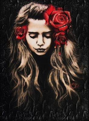Roses Are Red Art Print by Sheena Pike
