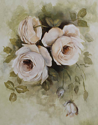 Painting - Roses by Becky West
