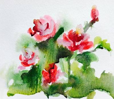 Roses Garden 3 Art Print